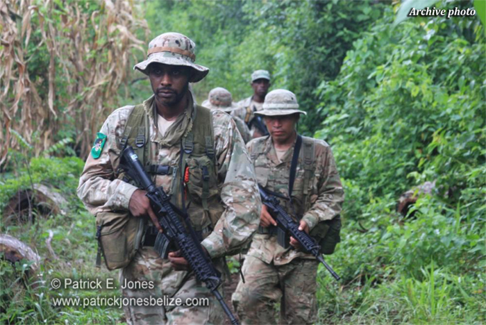 Belize Defence Force Soldiers