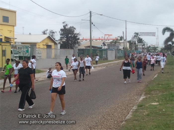 Cancer Walk (Belize City)