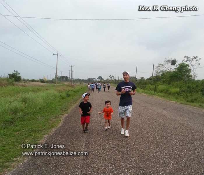 Dangriga Cancer Walk (May 10, 2014)
