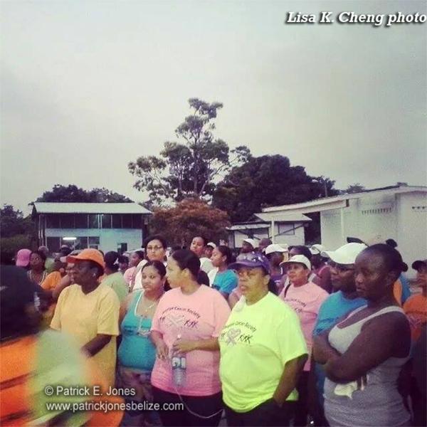 Cancer Walk in Dangriga