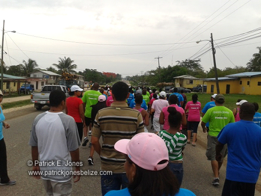 Cancer Walk (Belmopan)
