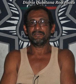 Miguel Angel Manzanero Cocom (Arrested by Mexican police)