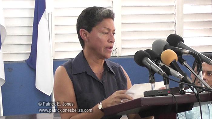 Dolores Balderamos Garcia (Belize Rural Central Area Representative)