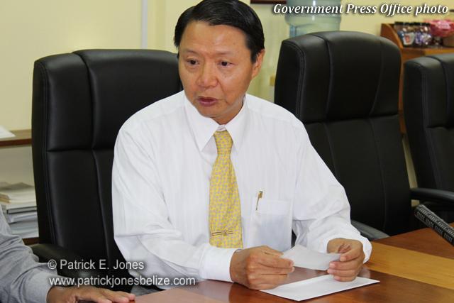 David Wu (Taiwan's ambassador to Belize)