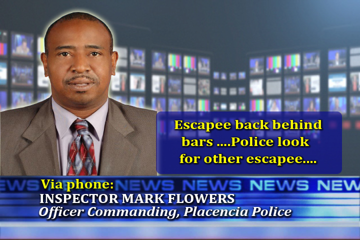 Inspector Mark Flowers (Officer Commanding, Placencia Police)