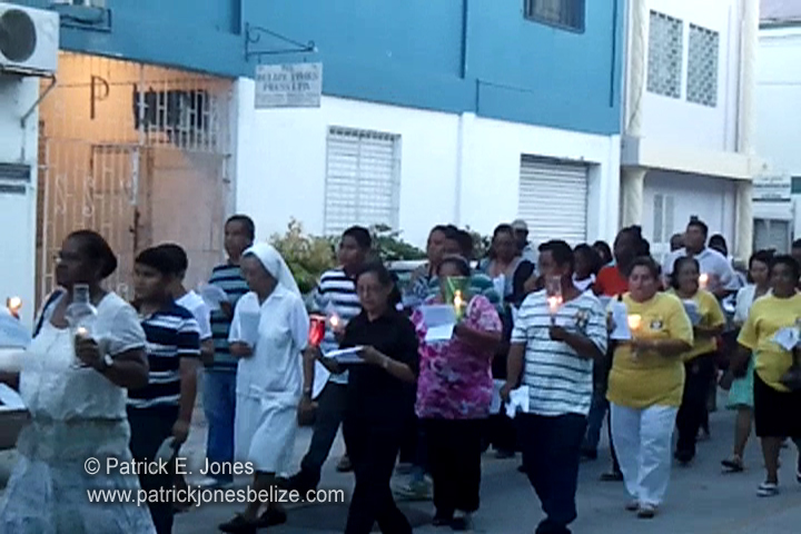 Guadaloupe Procession (Belize City)