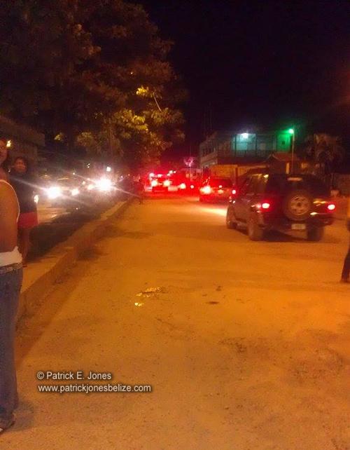 Hit and Run incident (Orange Walk)