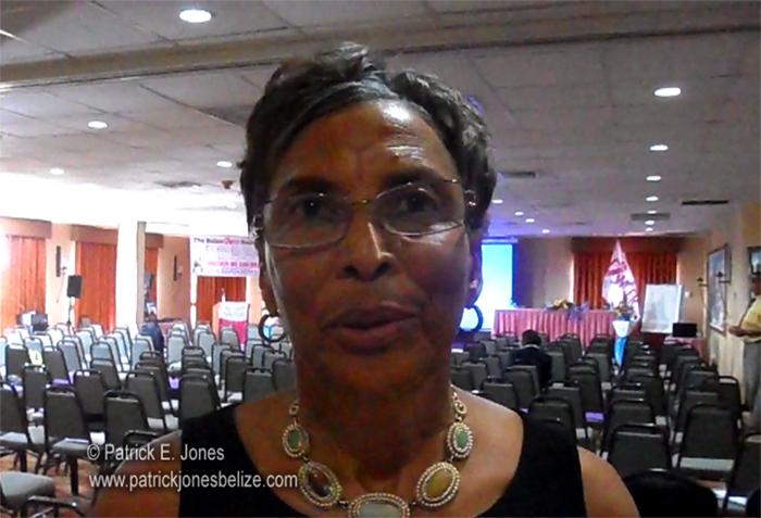 Laura Longsworth (President, Belize Cancer Society)