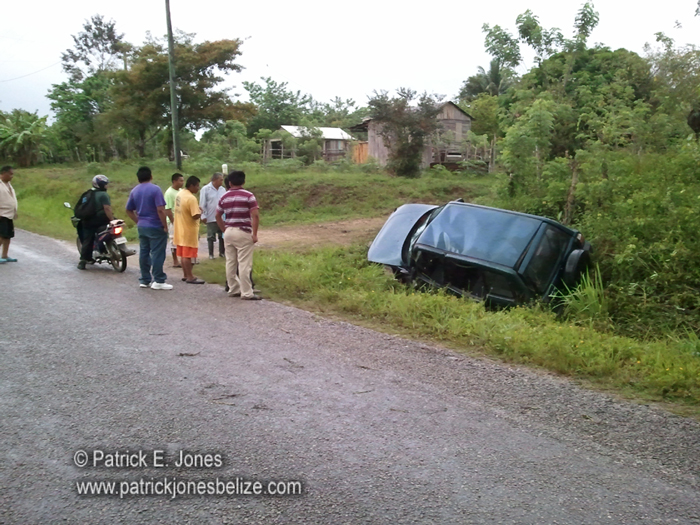 Traffic accident (Yemeri Grove village)