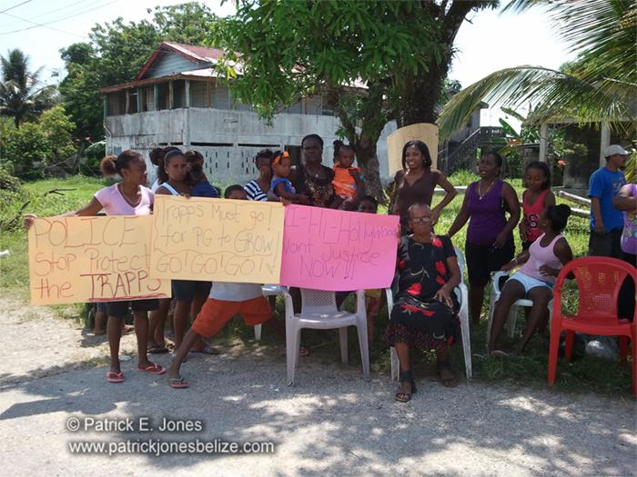 Punta Gorda protest