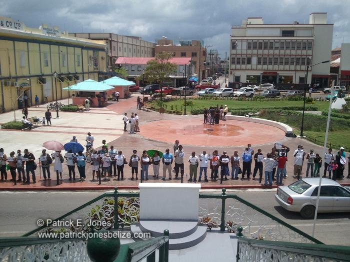 Belize Action Protest (Belize City)