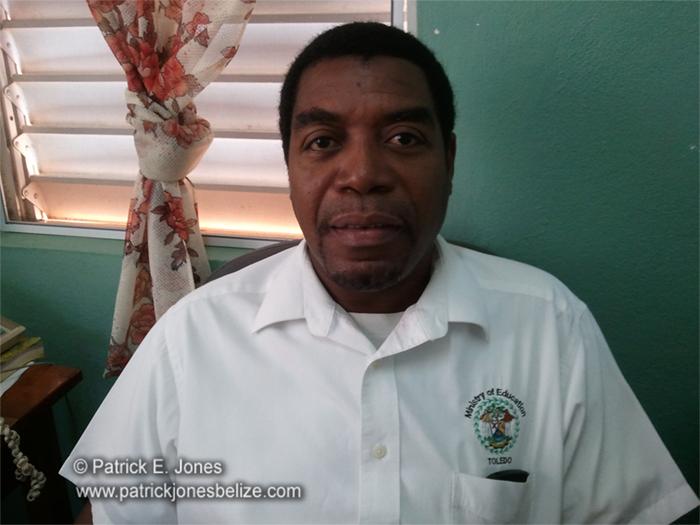 Floyd Lino (District Education Officer)