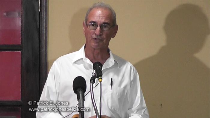 Stewart Krohn (President, BTIA Placencia)