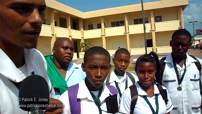 Primary School students (Belize City)