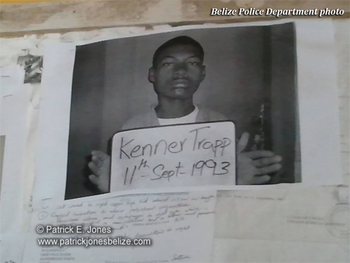 Kenner Trapp (Wanted by Police)