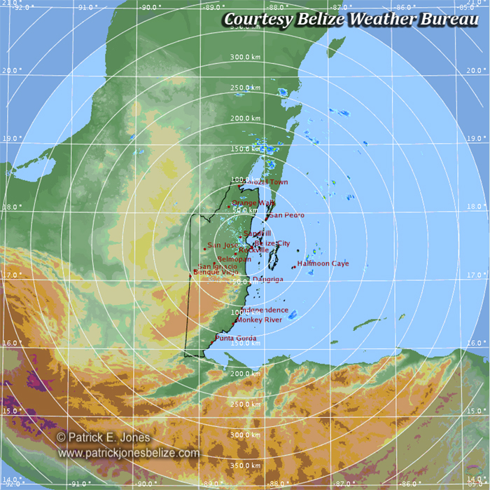 Weather conditions improving over belize belize news and for Bureau weather