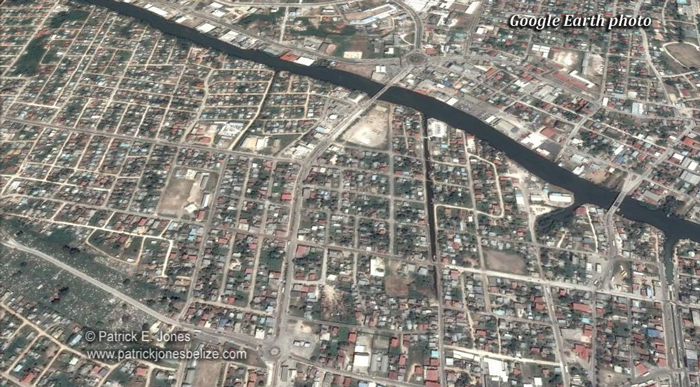 Belize City (Google Earth photo)