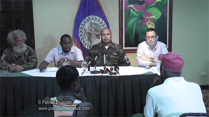 COLA Press Conference (Belize City)