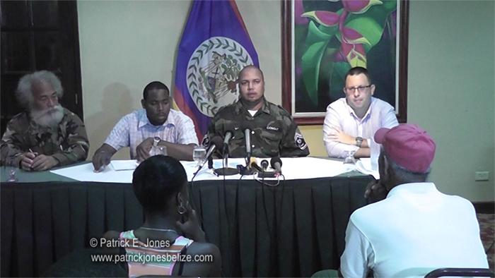 COLA Press Conference (Belize City)