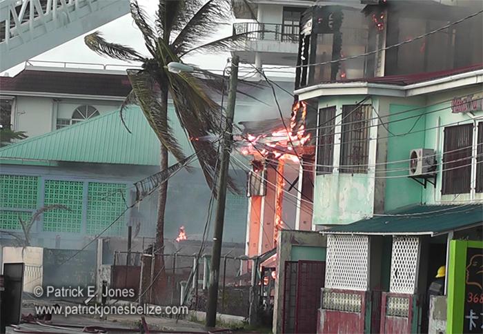 Belize City Fire
