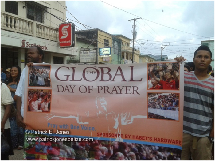 Global Day of Prayer (Dangriga)