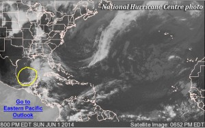 Hurricane season underway