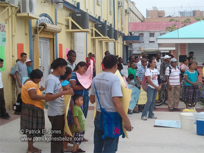 Demonstration (Belize City)