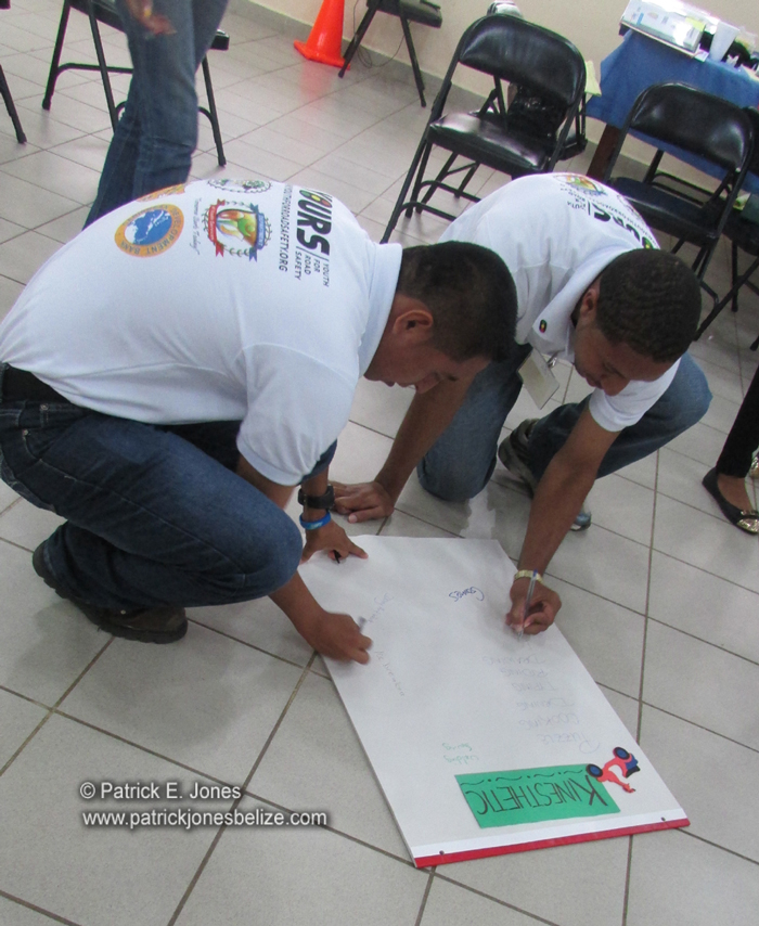 Youth training in road safety