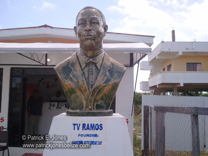 Thoman Vincent Ramos monument