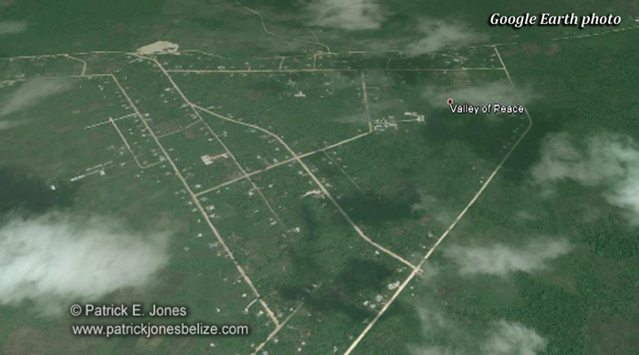 Valley of Peace (Google Earth photo)