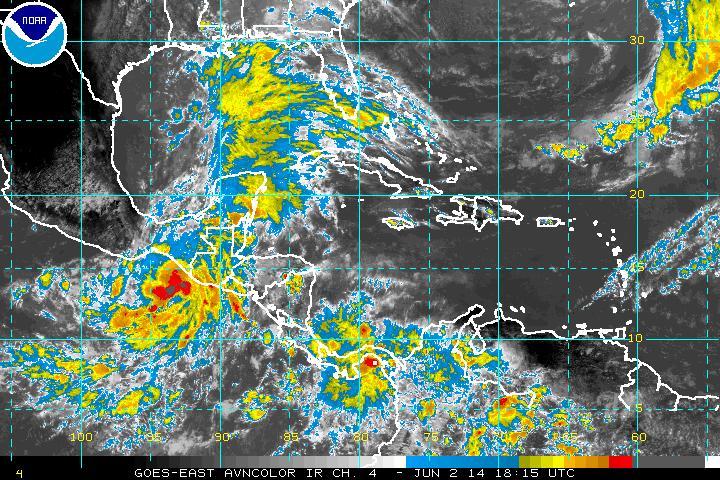 Weather Map (Courtesy NOAA)