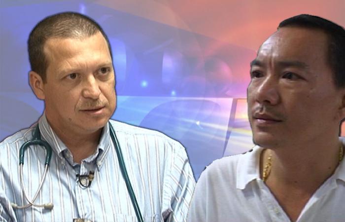 Dr. Victor Rosado & Lee Mark Chang