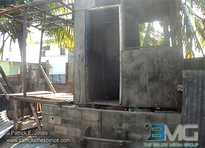 Fire in Belize City