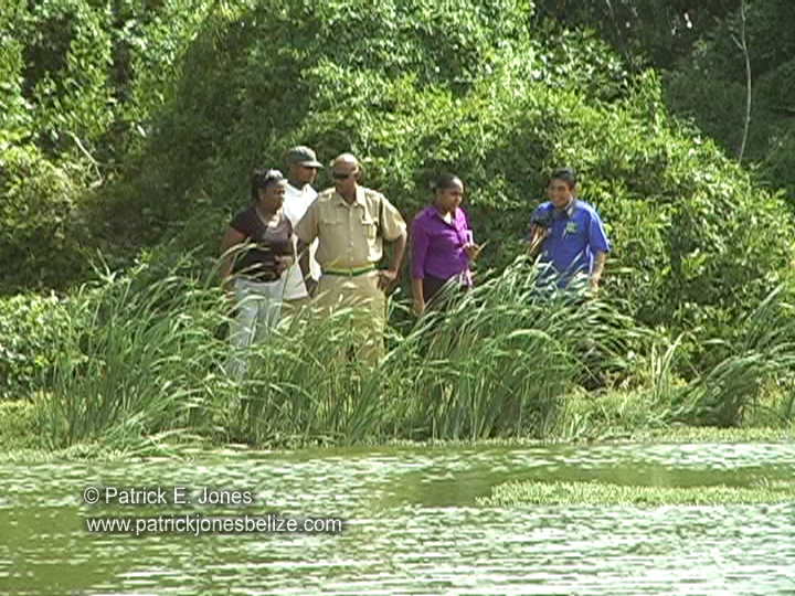 Body found in sewer pond