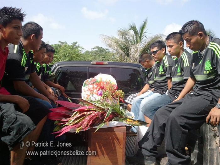 Francisco Coy laid to rest
