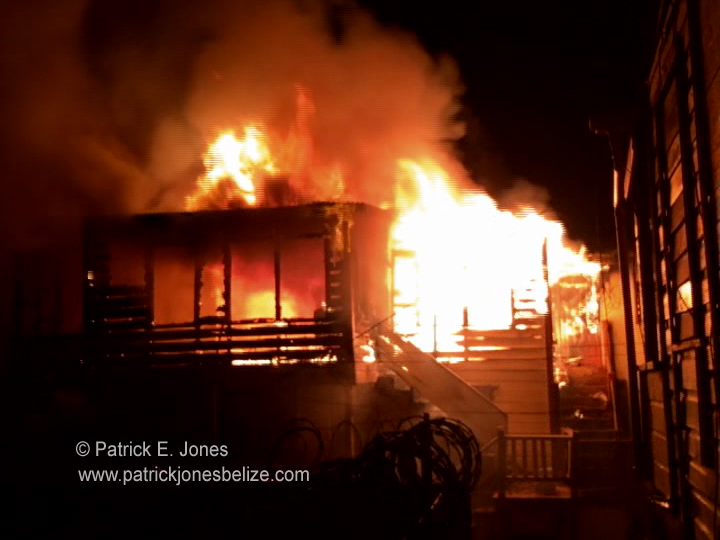 Fire on Prince Street