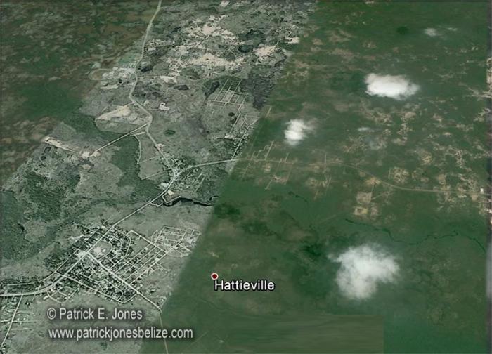 Hattieville village