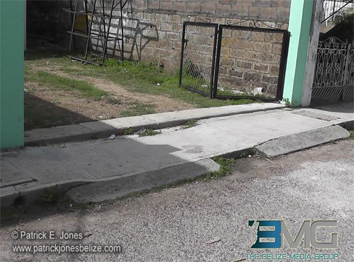 Murder scene [Victoria Street, Belize City]