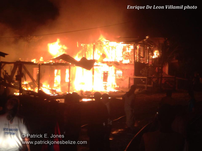Fire guts buildings in San Pedro