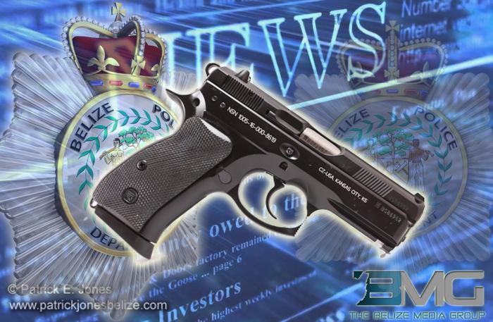 9 mm pistol