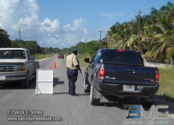 Police checkpoints