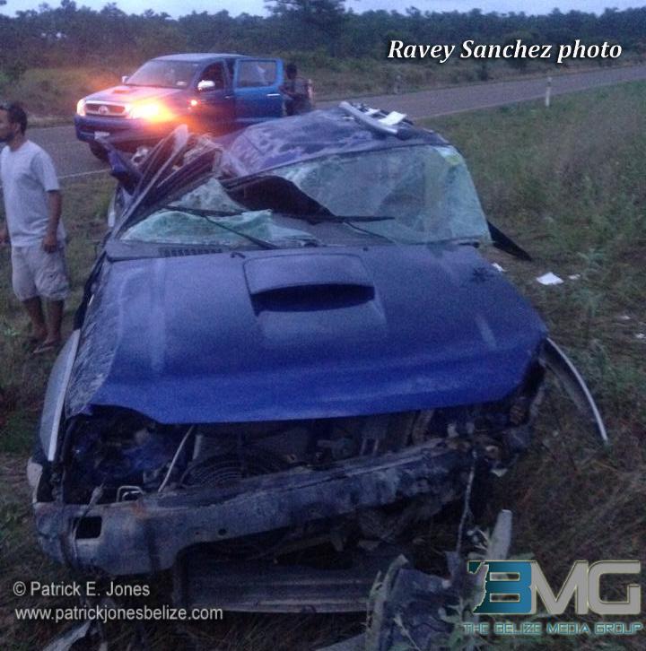 Placencia Road accident