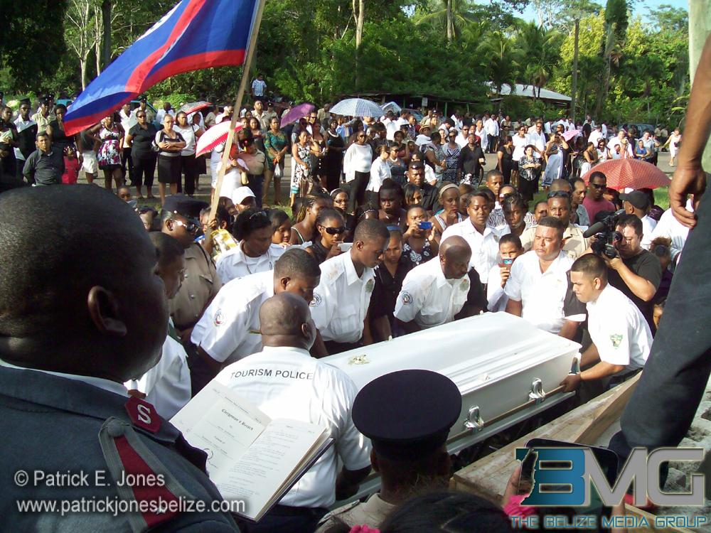 Danny Conorquie burial