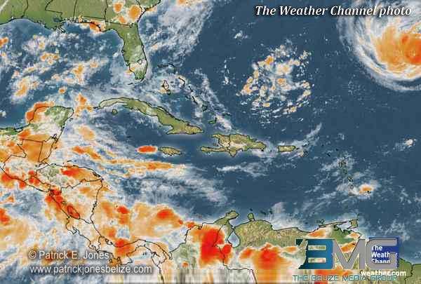 Caribbean Weather Satellite