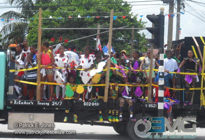 Carnival in Belize City