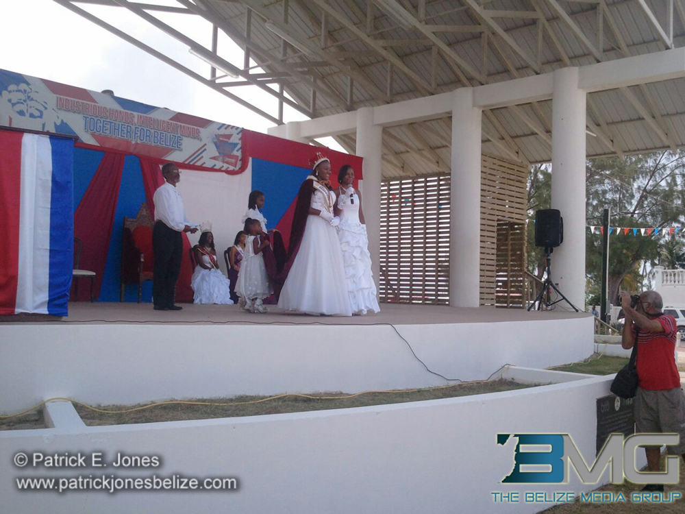 Queen of the Bay installation, Belize City