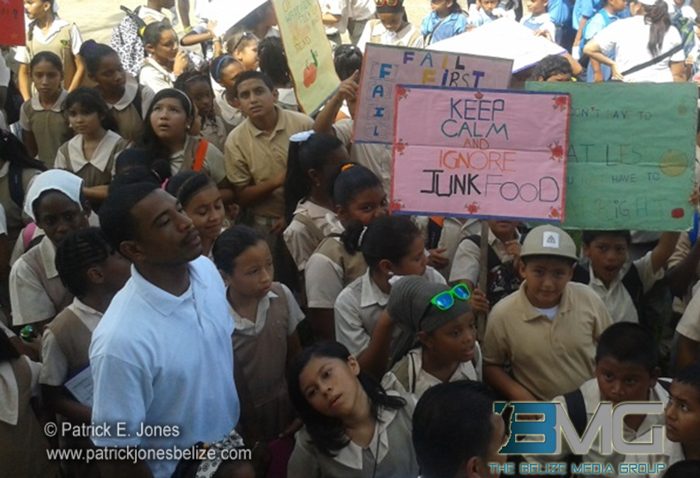 Students, Belmopan