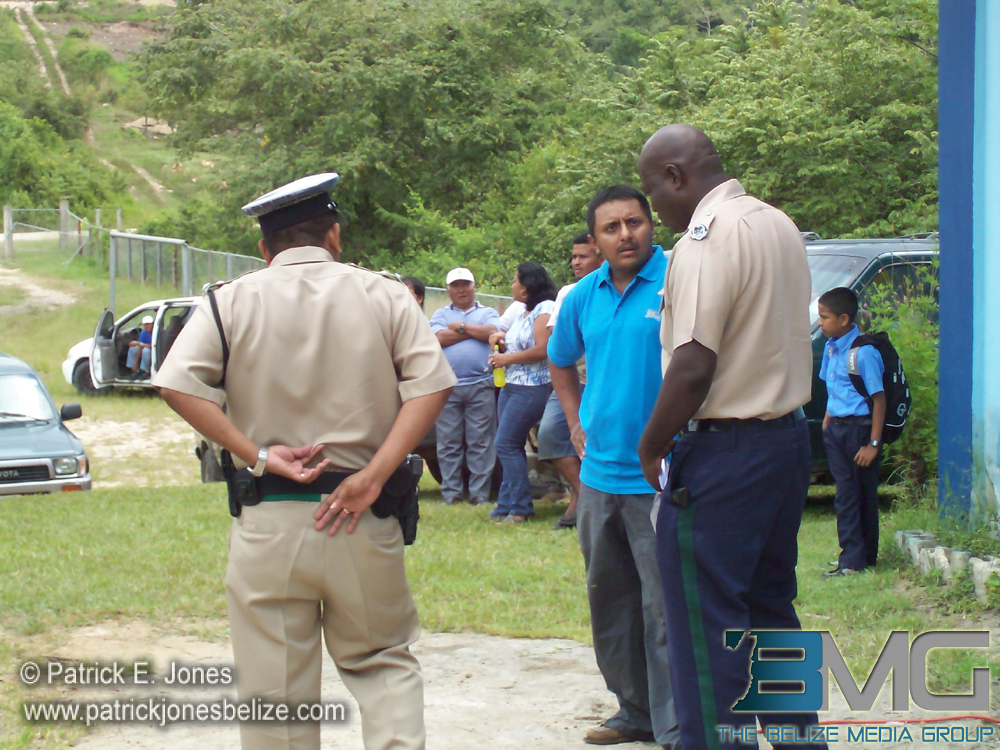 Police officer meet with Chairman
