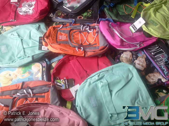 backpacks donation