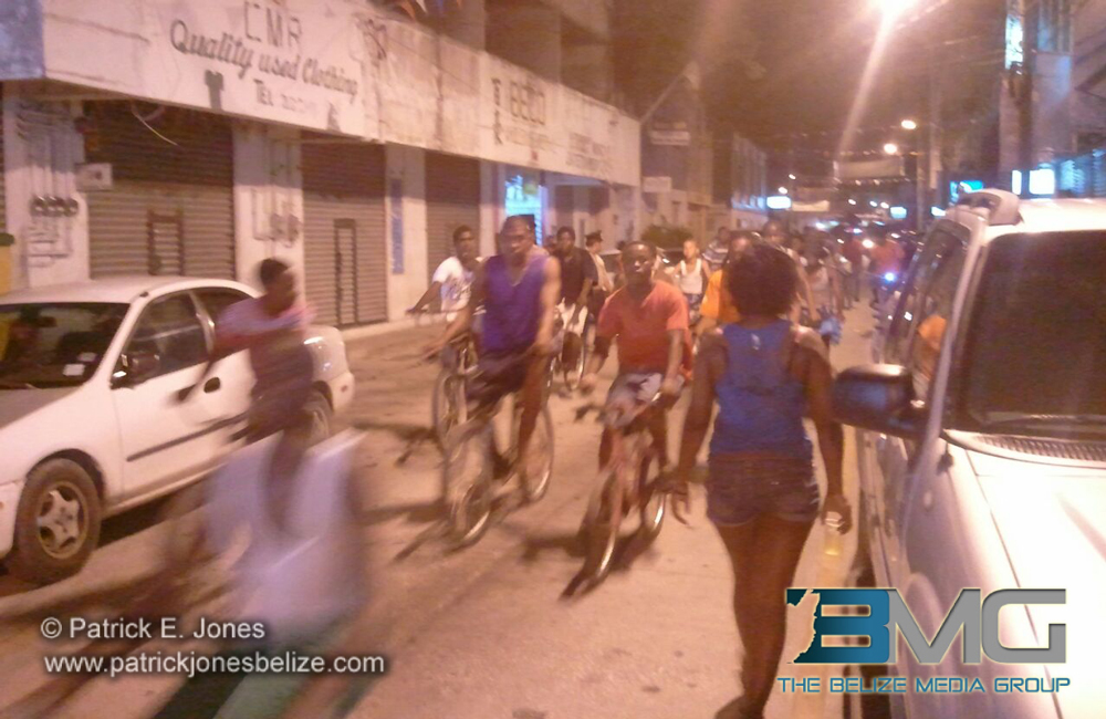 Belizeans witness Fire Engine Parade